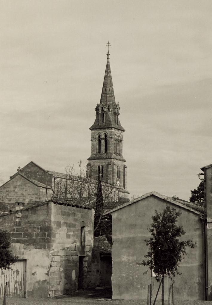 Abzac, l'église St.Pierre-ès-liens