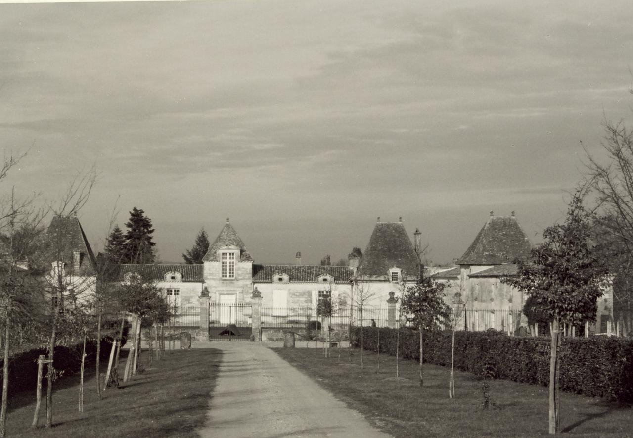 Abzac, le château d'Abzac