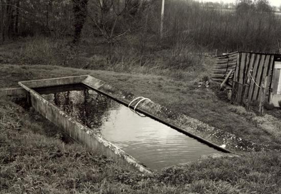 Abzac, un lavoir au lieu-dit Arnault.