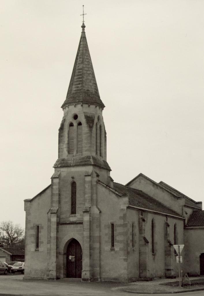 Chamadelle, l'église Saint-Etienne