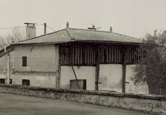 Chamadelle, une maison en torchis