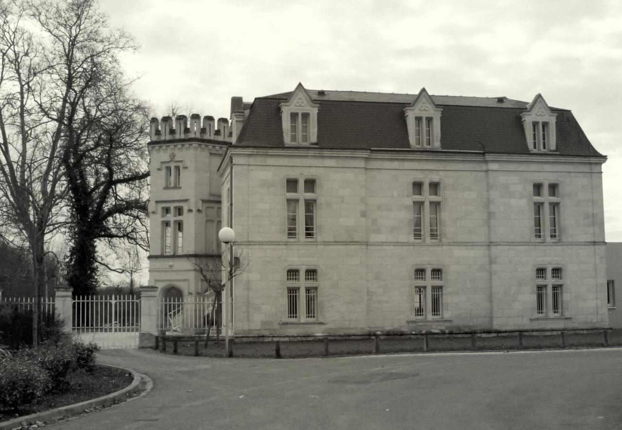 Coutras, le château d'Eygreteau