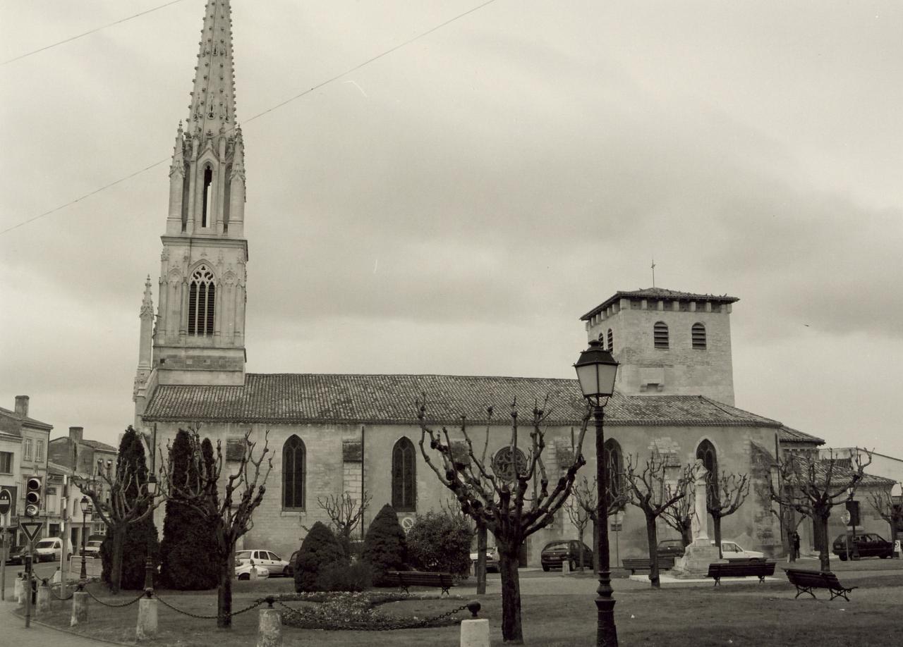 Coutras, l'église Saint-Jean-Baptiste