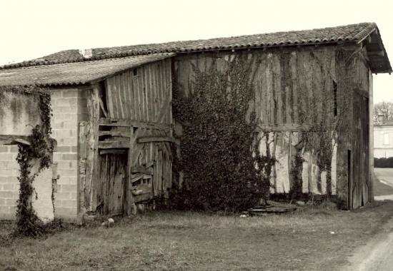les Peintures, une maison en torchis