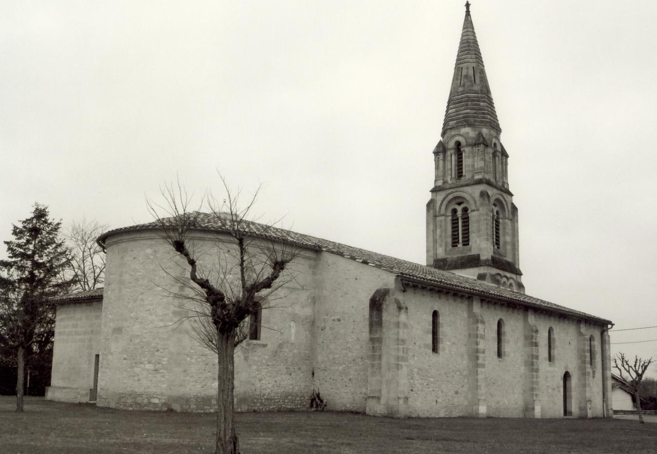 les Peintures, l'église Saint-Vincent