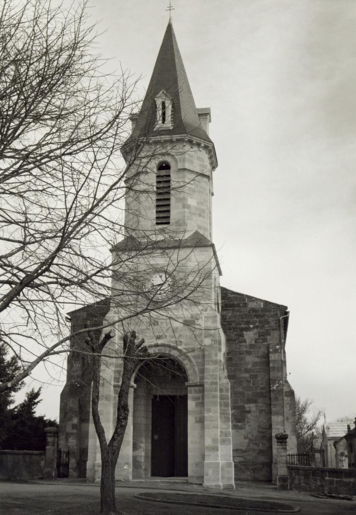 Saint-Christophe-de-Double, l'église Saint-Christophe