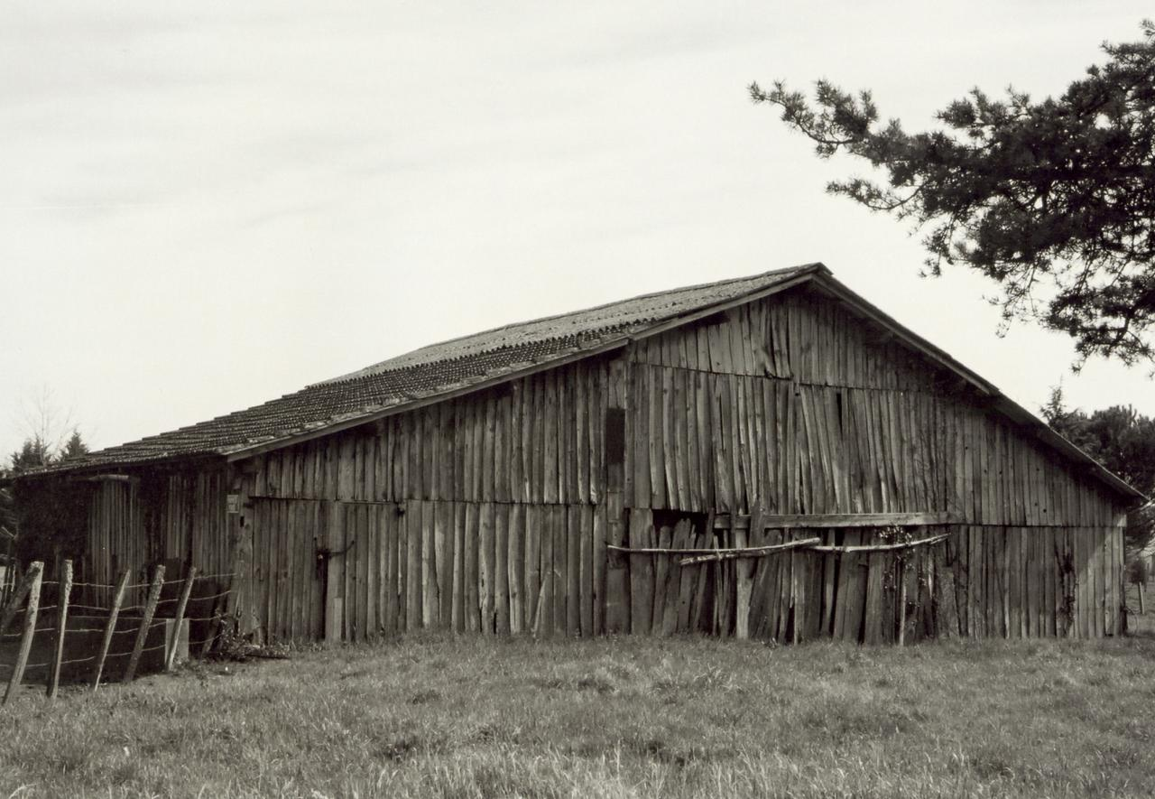 Saint-Seurin-sur-Isle, une vieille grange au lieu-dit Charbonnière