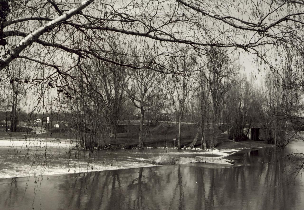 Saint-Seurin-sur-Isle, le barrage