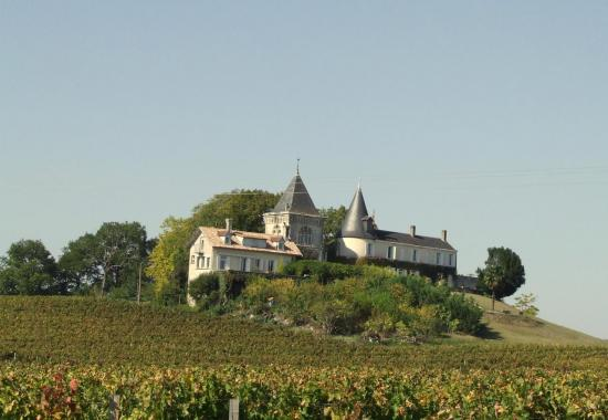 Fronsac, château au lieu-dit Richelieu