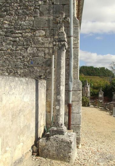 Saint-Michel-de-Fronsac, la croix du cimetière
