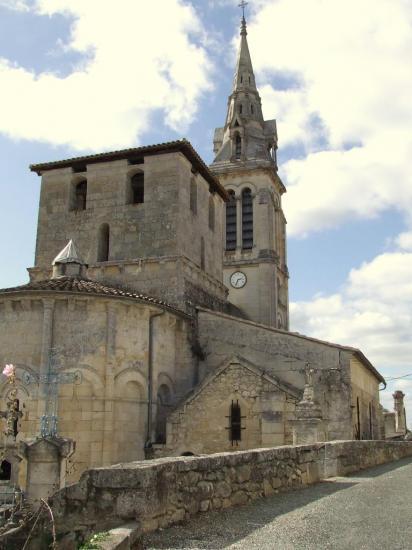 Saint-Michel-de-Fronsac, l'église Saint-Michel