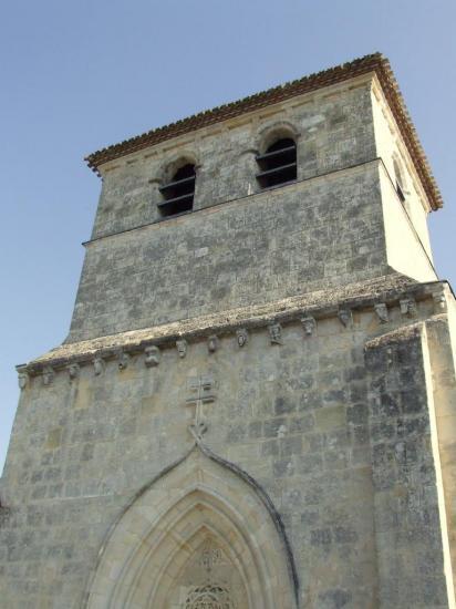 Vérac, l'église Saint-Cybard