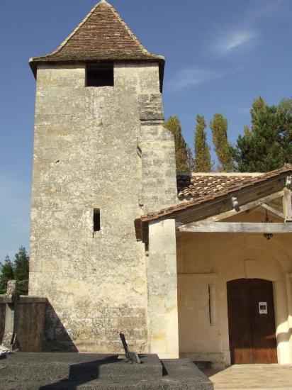 Tarnès, l'église romane Saint-Martin