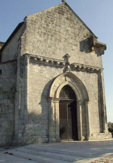 La-Lande-de-Fronsac, l'église romane du XIIème siècle