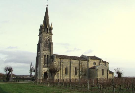 Cadillac en Fronsadais, l'église Saint-Georges