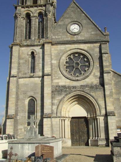 Périssac, l'église Saint-Pierre-aux-Liens