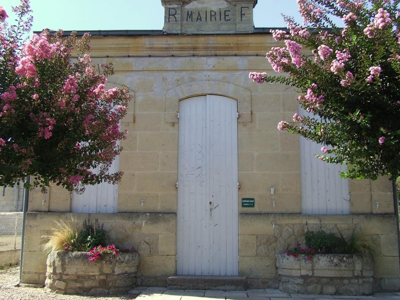 Mouillac, la mairie