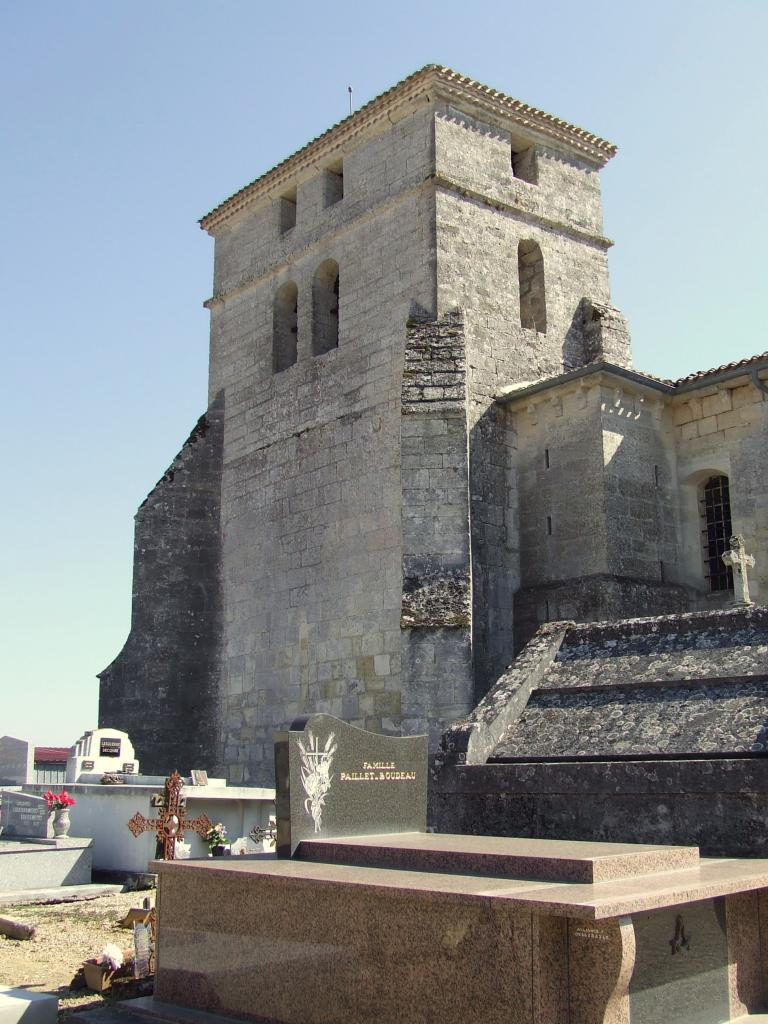 Saint-Genès-de-Fronsac, l'église romane Saint-Genès, 16ème siècle