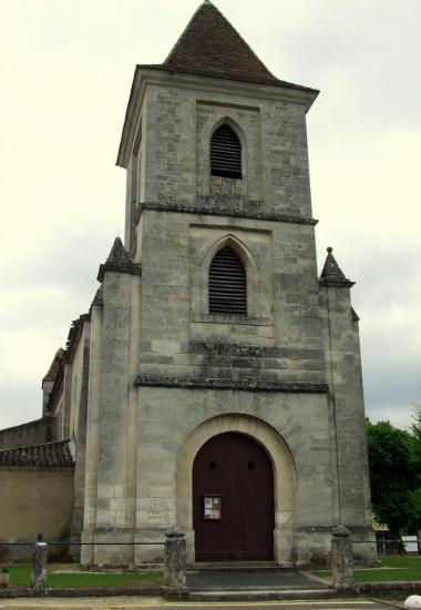 Lugon-et-l'Ile-du-Carney, l'église romane