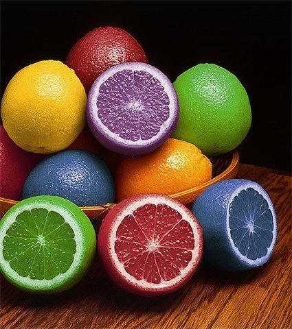 citrons toutes couleurs......