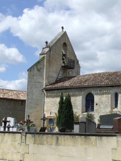 Dardenac, l'église Saint-Clément.