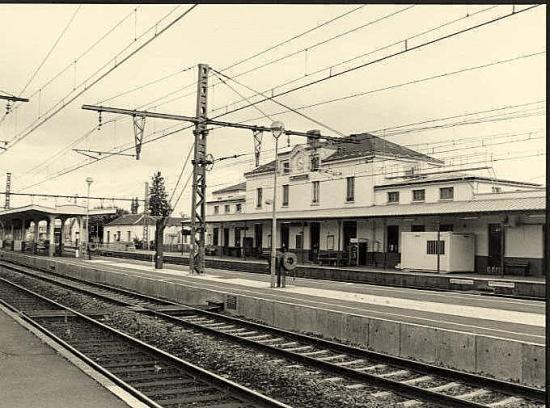 Migennes, la gare de Laroche-Migennes.