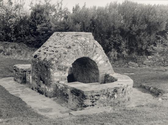 Guérande, un lavoir.