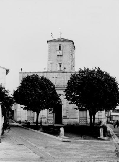 La Flotte, l'église.