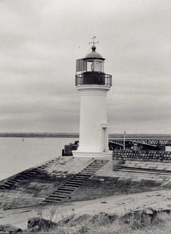 Paimboeuf, le phare.