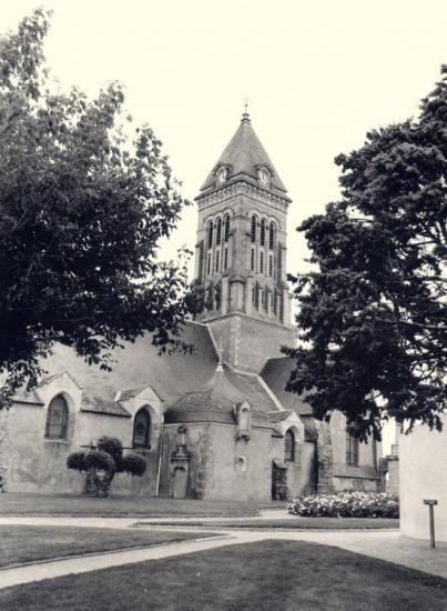 Noirmoutier, l'église Saint-Philibert.