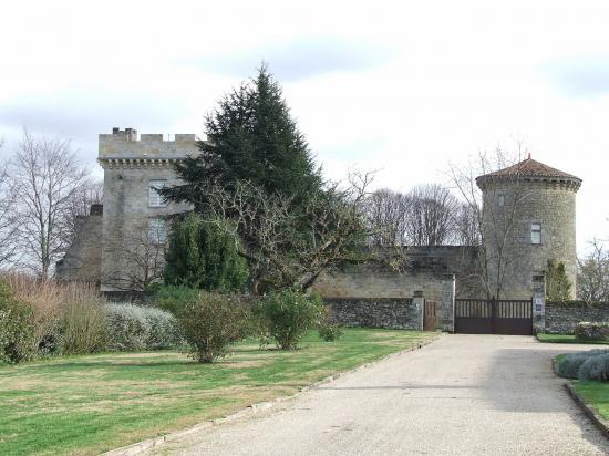 Génissac, le Vieux-Château,