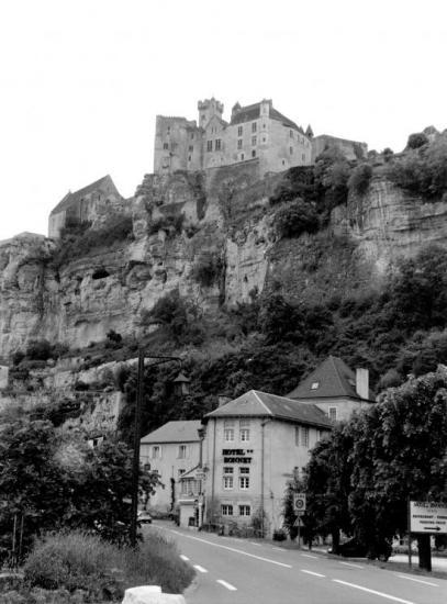 Beynac, le château.