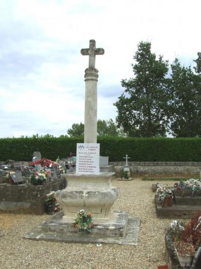 Camiac et Saint-Denis, la croix de cimetière