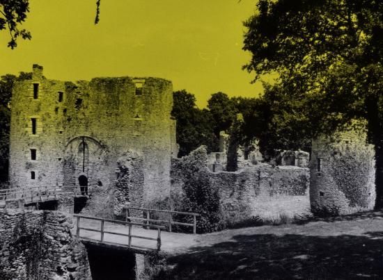 Herbignac, le château de Ranrouet.