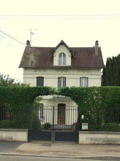 Migennes, la maison de Mr.Masson,