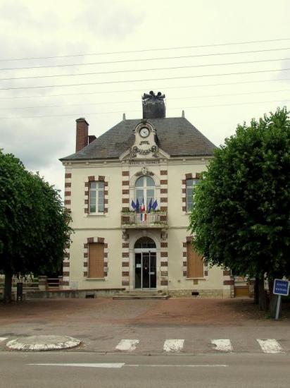 Migennes, la mairie,