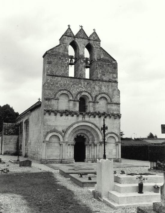 La Lande de Pomerol, l'église Saint-Jean