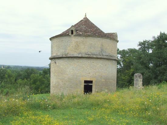 Moulon, le château de Montlau, le colombier.