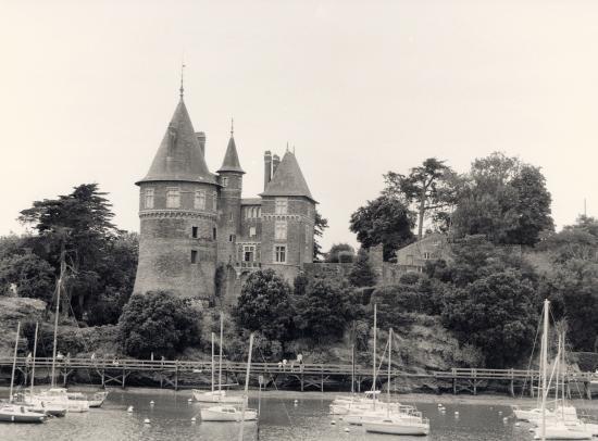 Pornic, le Château de Gilles de Ré.