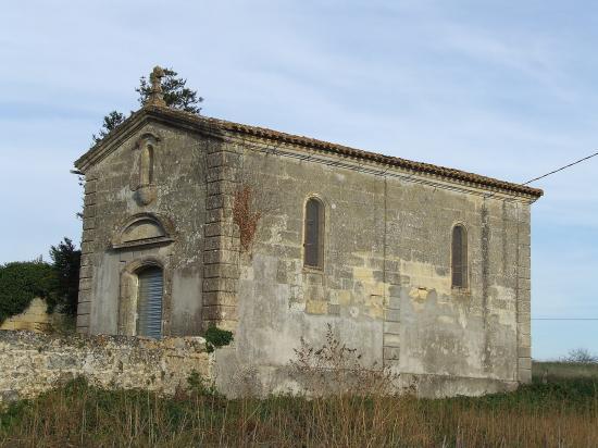 Nérigean, une chapelle au lieu-dit Carreyre,