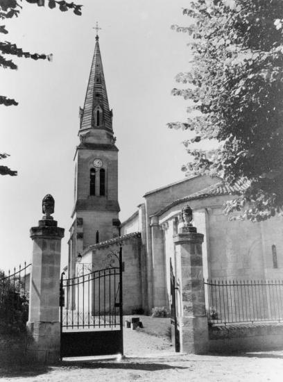 Saint-Sulpice-de-Faleyrens, l'église Saint-Sulpice.