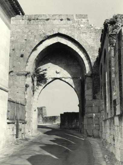 Saint-Emilion, la Porte Brunet.