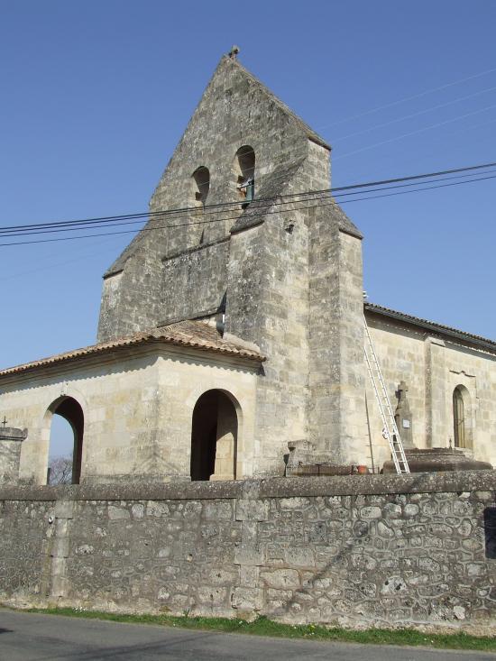 Guillac, l'église Saint-Seurin.