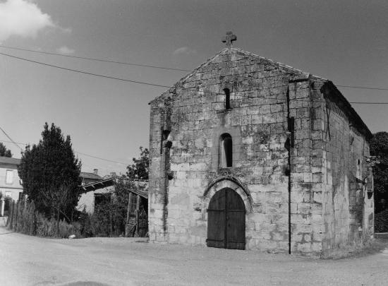 Génissac, la chapelle Saint-Nicolas.