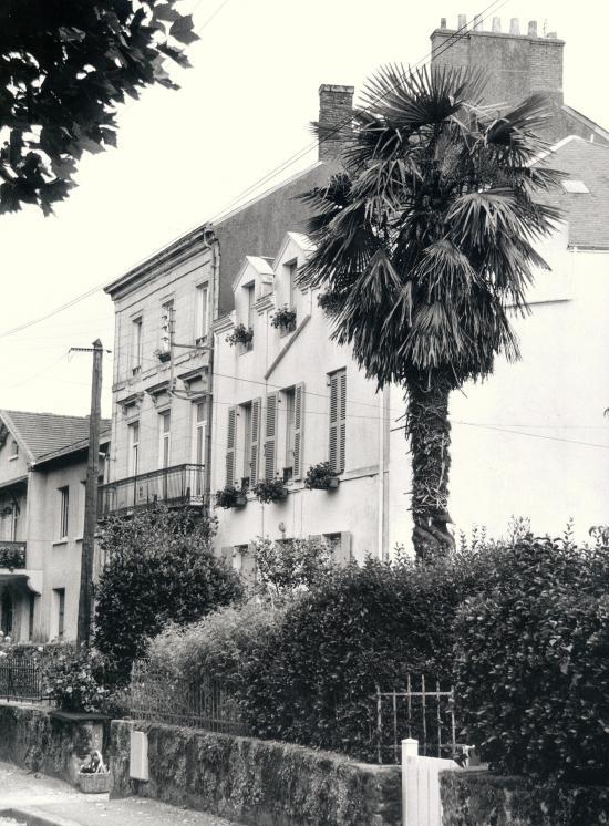 Paimboeuf, des maisons de style Empire.