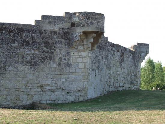 Saint-Quentin-de-Baron, le château de Bisqueytan.