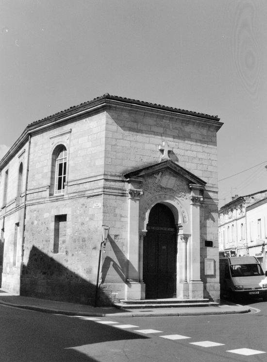 Libourne, le Temple, église réformée de France.