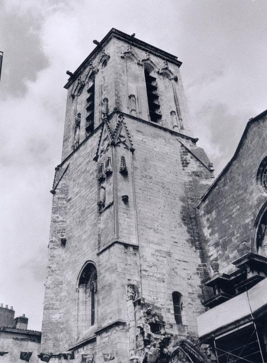 La Rochelle, la Tour Saint-Sauveur.