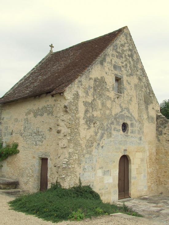 Génissac, le Vieux-Château: la chapelle.