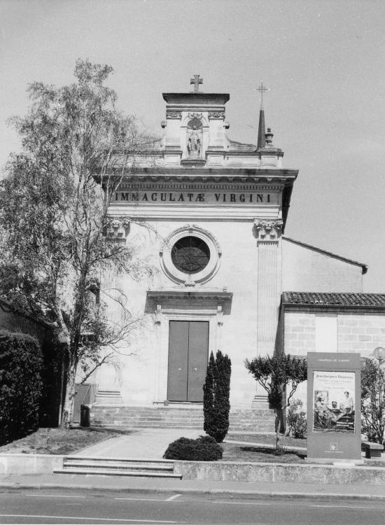 Libourne, la Chapelle du Carmel.